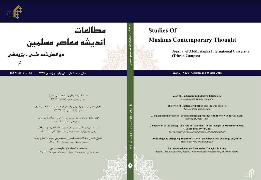 مطالعات اندیشه معاصر مسلمین